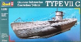 Revell 05093 German Submarine TYPE VII C
