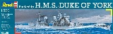 Revell 05105 Battleship HMSDuke of York