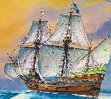 Revell 05486 1 83 Mayflower