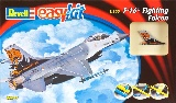 Revell 06644 1:100 Snap F-16 Fighting Falcon