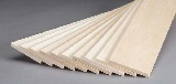 Revell 887530 Basswood Sheet 1-4x3x24