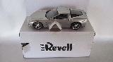 Revell 850965 Corvette Coupe Silver With Slate Interior