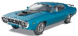 Revell 854016 Monogram 1:24 71 Plymouth GTX Plastic Model Kit