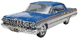 Revell 854278 1:25 63 Chevy Impalass 2 n 1