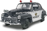 Revell 854318 48 Ford Police Coupe 2 in 1