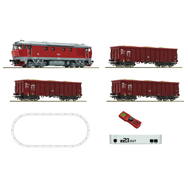 Roco 51294 Class T 478 Freight Train Z21 Digital Starter Set