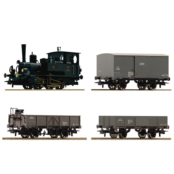 Roco 61458 Steam Locomotive Class 85 Freight Train Set