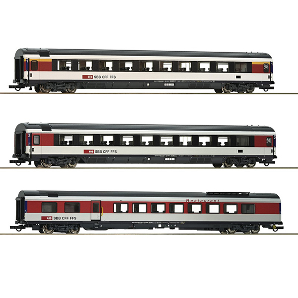 Roco 64143 SBB Passenger Carriage Set