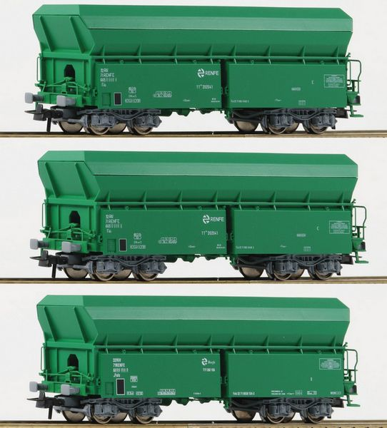 Roco 67080 Self Unloading Hopper Wagon Set
