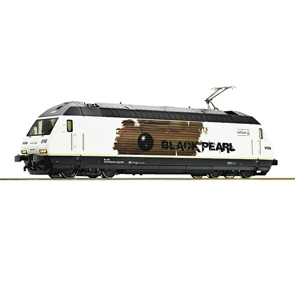 Roco 73277 Electric Locomotive Black Pearl BLS DC