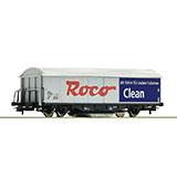 Roco 46400 Clean Track Cleaning Wagon DC