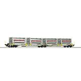 Roco 67403 Articulated Double Pocket Wagon
