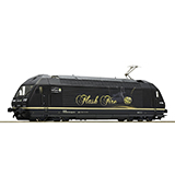 Roco 73273 Electric Locomotive 465 018 Flash Fire BLS DC