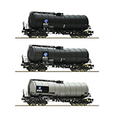 Roco 76156 3 Set of Slurry Wagons KVG DB AG