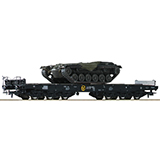 Roco 76161 Heavy Duty Flat Wagons DB Set DC