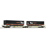 Roco 76417 AAE Articulated Double Pocket Wagon