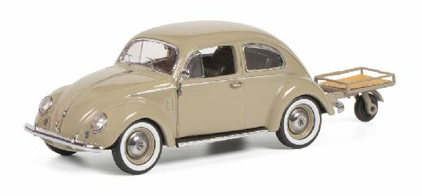 Schuco 450269200 VW Kafer with Auto Porter