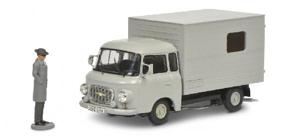 Schuco 450365600 Barkas B 1000 with Figure