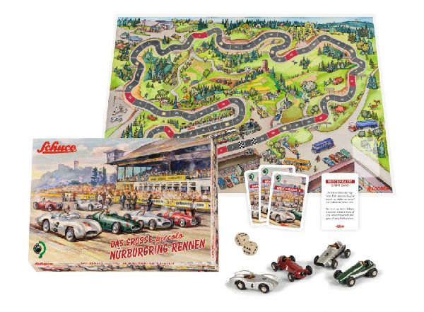 Schuco 450513700 Pic Board Game NURBURGRING II