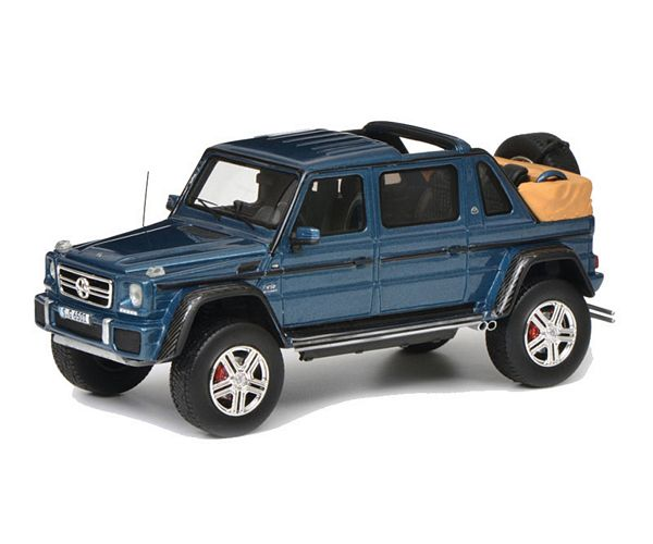 Schuco 450900400 Mercedes-Maybach G650 Landaulet Blue