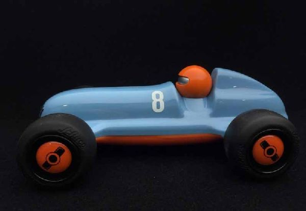 Schuco 450987200 Studio Racer Blue-Pierre 8 Blue Orange