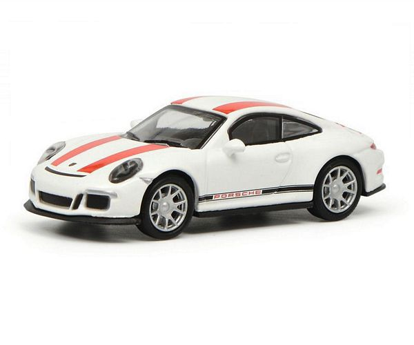 Schuco 452629900 Porsche 911R White-Red