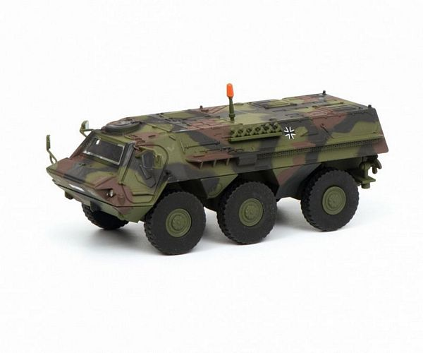 Schuco 452635800 Fuchs Infantry Transport Vehicle Bundeswehr Camouflaged