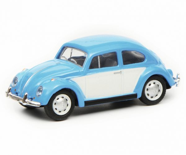 Schuco 452640200 VW Beetle Blue White