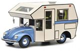 Schuco 450011400 VW Kafer Motorhome Blue
