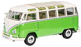 Schuco 450028600 VW T1b Samba Green-White