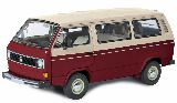 Schuco 450038100 VW T3a Bus Red-White