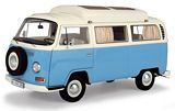 Schuco 450043500 VW T2a Camping Bus Blue White