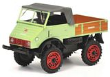 Schuco 450313200 Unimog U 401 Light Green