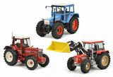 Schuco 450765900 Set Tractor Legends in Wooden Gift Case