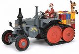 Schuco 450770300 Lanz with Caterpillar Christmastime
