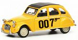 Schuco 452016600 Citroen 2CV 007 Yellow