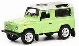 Schuco 452018100 Land Rover Defender Green White