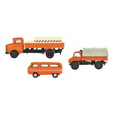 Schuco 452655600 3-Unit Set Municipal Vehicles