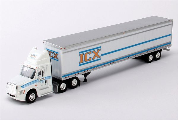 Trucks N Stuff SP099 Cascadia Day Cab 53 Dry Van Trailer