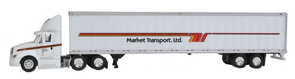 Trucks N Stuff SP122 Prostar Day Cab with 53 ft Dry Van Trailer
