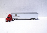 Trucks N Stuff SP103 Cascadia Day Cab with 53 ft Dry Van Trailer