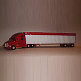 Trucks N Stuff 5391 Kenworth T700 Sleeper-Cab Tractor w-53 Spread