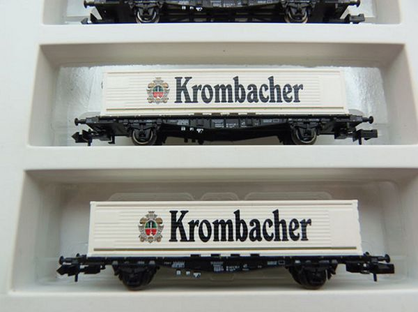 MiniTrix 11421 KROMBACHER Set W-X-12 Electric Locomotive