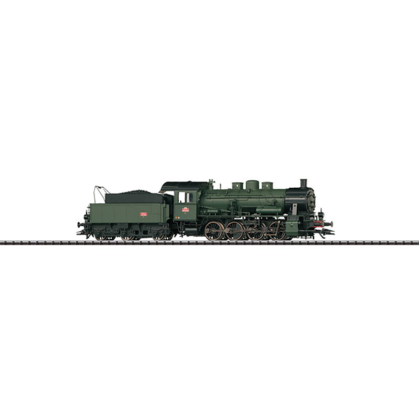 Trix 22369 Freight Locomotive with a Tender Serie 040D Est SNCF