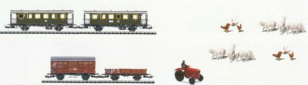 Trix 23944 BRANCH LINE Car Set-4