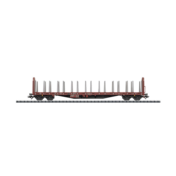Trix 24345 Lumber Transport Car Roos 639 DB AG