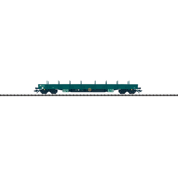 Trix 24524 Flat Car with Steel Side Walls Res FS