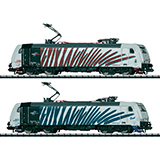 MiniTrix 12102 Set of 2 Class 185 6 Electric Locomotives