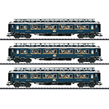 Trix 23220 Simplon Orient Express Express Train Passenger Car Set 2