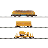 MiniTrix 11606 Construction Train Set BR 216 TSO